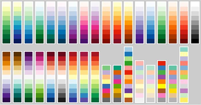 цветового пространства HCL